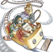 Don Gerundio y la montaña rusa del lenguaje. Ilustraciones. Un proyecto de Ilustración de FRANCISCO POYATOS JIMENEZ         - 22.05.2015
