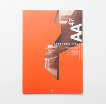Author Architecture catalogue. A Architecture, and Editorial Design project by Charlotte Cavellier - 09-08-2015