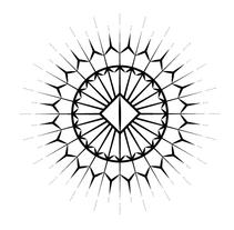 BRANDING - A.Marie Schwanzerbach - de punta en negro (black wedding dresses). Un proyecto de Ilustración, Br, ing e Identidad, Diseño gráfico y Marketing de Sandra Allen - 09-08-2015