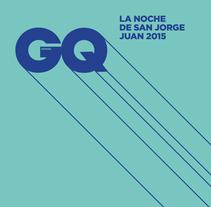 GQ La noche de San Jorge Juan 2015. Un proyecto de Dirección de arte, Eventos y Diseño gráfico de Alejandro Castro Medina - 12-08-2015