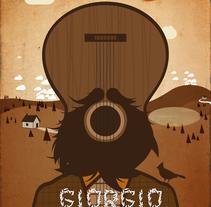 songwriters poster. Un proyecto de Ilustración de rosco - 16-08-2015