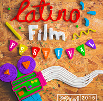 SAN DIEGO LATINO FILM FESTIVAL. A Design, Illustration, 3D, Art Direction, Crafts, Creative Consulting, Graphic Design, Sculpture, T, pograph, and Calligraph project by Rodrigo  Zarain Rojas - 07-02-2015