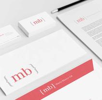 Id. Corporativa : Maria Blasco Gil. A Design, Br, ing, Identit, and Graphic Design project by Borja González de Rivas         - 21.02.2015