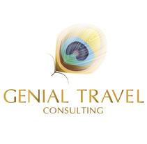 Genial Travel Consulting - LOGO. A Graphic Design project by Nerea Mendinueta Bernardos - 12-04-2012