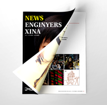 News Enginyers Xina. A Editorial Design, and Graphic Design project by Carles Ivanco Almor         - 14.08.2015