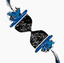 El Retroceso (Cover). Un proyecto de Diseño gráfico de Diego Burdío - Viernes, 01 de agosto de 2014 00:00:00 +0200