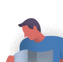 Ilustración de Prensa. A Illustration, and Graphic Design project by Toni Ventura         - 31.08.2015