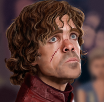 Tyrion. A Illustration project by Javier  Benver - 02-09-2015