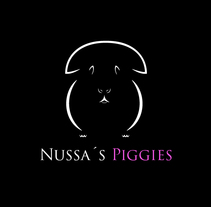 """Logo """"Nussa´s Piggies"""". A Graphic Design project by Lucho Palacios - 14-09-2015"""