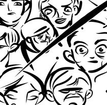 Cartoon. Un proyecto de Ilustración de rafa san emeterio  - Miércoles, 16 de septiembre de 2015 00:00:00 +0200