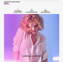 Panorama: Proyecto editorial. Un proyecto de Dirección de arte de Pablo Elorriaga Grande         - 15.10.2009