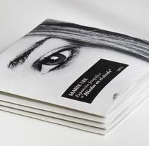 Mini Folleto Exposiciones. Diseño Editorial. A Photograph, Editorial Design, and Graphic Design project by Tanya VONDEE - 21-09-2015