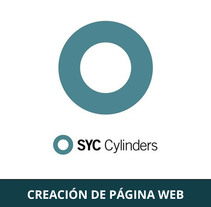 Página Web SYC Cylinders. A Photograph, Graphic Design, Web Design, and Video project by Laura Misidro         - 30.06.2015