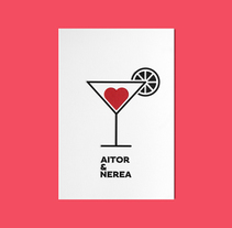 Aitor & Nerea. A Graphic Design&Illustration project by La caja de tipos  - 04.09.2015