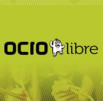 Ocio libre. Portal de ofertas de ocio. Diseño de logo e imagen gráfica.. A Art Direction project by Enrique Peláez Martín - 01-10-2015