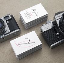 Ilde Sandrín. Un proyecto de Diseño, Publicidad, Dirección de arte, Br, ing e Identidad, Gestión del diseño, Diseño gráfico y Tipografía de Arturo Hernández - 02-09-2015