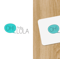 Oh baby lola, identidad corporativa. A Art Direction, Br, ing, Identit, and Graphic Design project by Daniela Setien         - 05.10.2015
