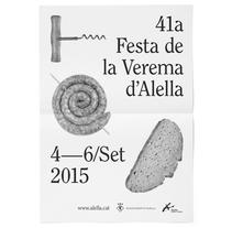 Alella - Fiesta de la vendimia 2015. A Br, ing, Identit, Graphic Design, and Events project by Atipus  - Oct 13 2015 12:00 AM