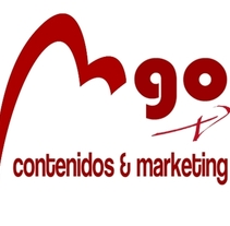 DISEÑO DEL LOGOTIPO DE MI MARCA: MGO CONTENIDOS & MARKETING. A Br, ing, Identit, Graphic Design, Marketing, T, pograph, and Calligraph project by María Jesús González Olivar         - 10.10.2015
