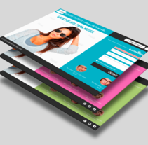 Landing Pages. Un proyecto de Diseño, Diseño interactivo, Marketing y Diseño Web de Alfredo Moya - 14-10-2015