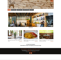 WEB Restaurante El Puente. Um projeto de Web design de Moisés Escolà Martínez         - 17.10.2014