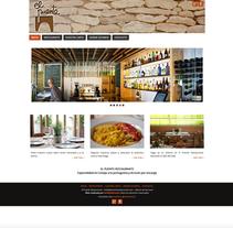 WEB Restaurante El Puente. Un proyecto de Diseño Web de Moisés Escolà Martínez         - 17.10.2014