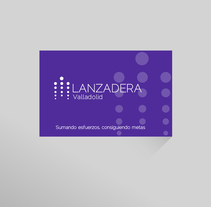 Idenidad y soportes: Lanzadera de empleo y emprendimiento. A Br, ing, Identit, and Graphic Design project by Irene  - 22-10-2015
