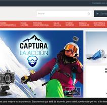 sportsandgadgets.com. Um projeto de Web design e Desenvolvimento Web de Gema R. Yanguas Almazán         - 09.05.2015