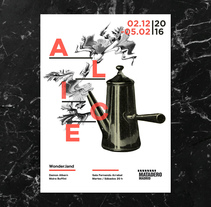 Cartel Alice. A Design, Br, ing, Identit, Editorial Design, Graphic Design, Information Architecture, T, and pograph project by Maria Suarez-Inclan - 26-10-2015