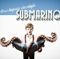 20 mil leguas de viaje SUBMARINO. A Graphic Design project by Pedro Molina Muñoz - 26-10-2015