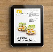 Revista RS Rincón del Sibarita. Versión impresa y digital. A Software Development, and Editorial Design project by Irene Somenson Cuéllar         - 31.07.2015