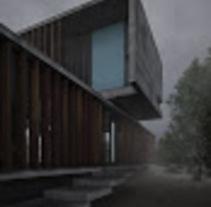 "Proyecto de infoarquitectura "" casa MR "". A 3D project by maite fuentes          - 30.10.2015"