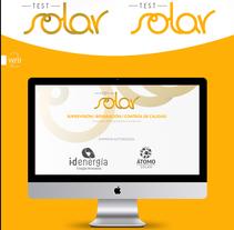 Solar Test - Branding. Un proyecto de Br e ing e Identidad de Elena Infante         - 31.12.2013