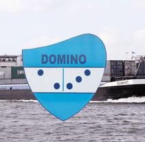 Proyecto de un barco,  diseño del escudo de armas . Um projeto de Design e Design gráfico de danyra boers         - 07.04.2014