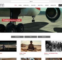 Free Your Mind - Postproduction Facility in Madrid. A Web Design project by César Martín Ibáñez  - Nov 15 2015 12:00 AM
