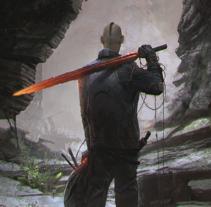 The Hunter. Un proyecto de Ilustración, Publicidad, Dirección de arte y Diseño de personajes de Daniel Catalina - 15-11-2015