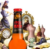 ¿Una cervecita vintage?. Un proyecto de Ilustración y Publicidad de Serina Maio         - 15.11.2015
