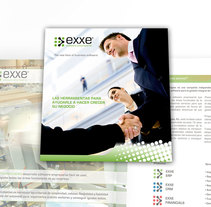 Catalogo corporativo para EXXE software intergral para empresas. A Editorial Design, and Graphic Design project by jaime sabatell oliva         - 16.01.2010