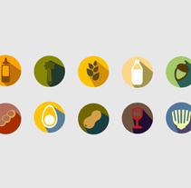 Adaptación de cartas y menús.. Un proyecto de Diseño, Br, ing e Identidad y Diseño gráfico de Moisés Ruiz Bell.         - 19.11.2015