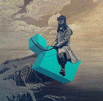 RIDER I. A Fine Art, and Collage project by Marcos Martínez - 20-11-2015