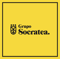 Grupo Socratea. A Art Direction, Br, ing, Identit, and Graphic Design project by Antón Veríssimo - 23-11-2015