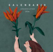 Calendario ilustrado 2016. Un proyecto de Ilustración de Raquel Feria Legrand         - 30.11.2015