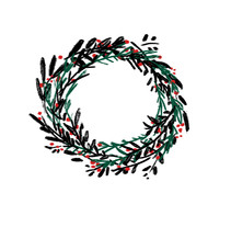 Navidad 2015. Un proyecto de Ilustración, Animación y Diseño gráfico de Eva Delaserra         - 01.12.2015