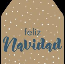 Christmas labels. Un proyecto de Diseño gráfico y Packaging de Irene Marti - 01-12-2015