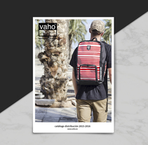 Catálogo Vaho. Un proyecto de Diseño, Diseño editorial, Diseño gráfico, Cop y writing de Anna Carbonell Sariola         - 07.12.2015