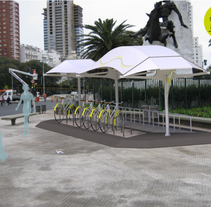 Sistema de guardería y estacionamiento de bicicletas en la Ciudad de Buenos Aires.- Parking urban bikes.. A Industrial Design project by Alexis Fisch         - 07.12.2015