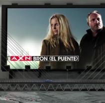 AXN - ID Broen. Un proyecto de Publicidad, Motion Graphics, Cine, vídeo, televisión, 3D, Animación y Televisión de Rafa E. García         - 10.01.2014