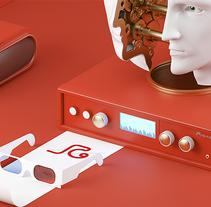 The M of M. Um projeto de Design, Publicidade, 3D e Direção de arte de Jorge Gago López         - 10.12.2015
