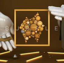 Play With My Logo III : Bubble. Un proyecto de Ilustración y 3D de Guille Llano - 10-12-2015