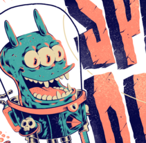 Space Opera. A Character Design&Illustration project by Germán  Torres - 12.21.2015